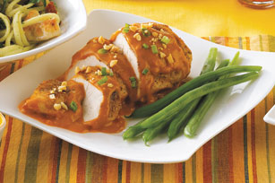 Saucy Moroccan Peanut Chicken
