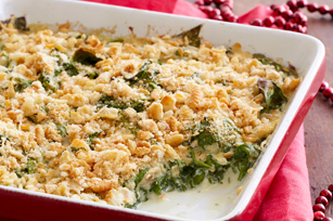 Saucy Spinach Bake