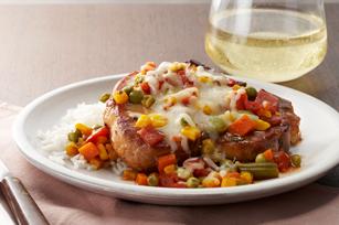 Saucy Italian-Style Pork Chops