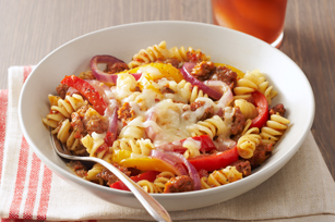 Sausage & Peppers with Rotini Pasta Image 1