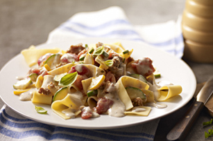 Sausage-Vegetable Ragoût Pappardelle