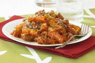 Sausage and Tomato Rigatoni