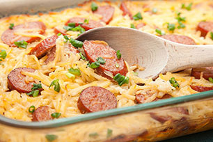 Better Choice Sausage-Potato Casserole Image 1