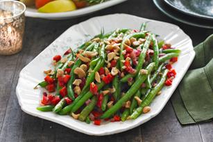 Sautéed Green Beans & Cashews
