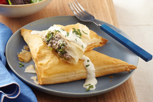 Savory Garlic Beef & Broccoli Turnovers Image 1