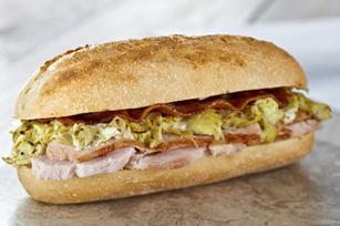 Savory Turkey & Artichoke Sandwich