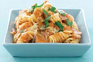 Savory Bean Pasta Image 1