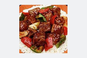 Savory Beef and Red Pepper Stew