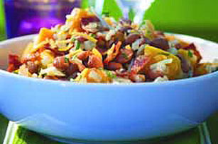 Savory Squash & Bean Side Dish