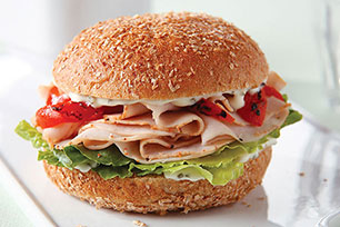 Savory Turkey Sandwich Image 1