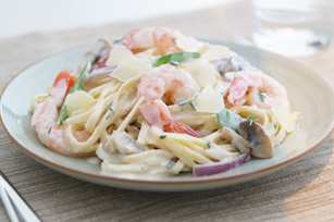 Savoury Shrimp Linguine
