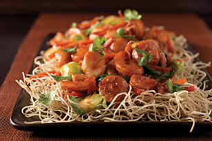 Seafood Pan-Fried Noodles Image 1