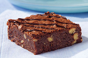Bizcochitos (brownies) de chocolate semidulce