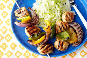 Sesame Chicken & Pepper Kabobs