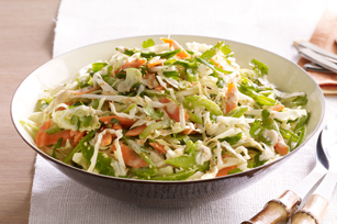 Salade de chou au sésame et au gingembre