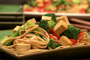 Sauté de tofu au sésame