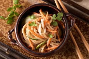 Shanghai Peanut-Noodle Salad