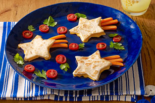 Shooting-Star Quesadillas