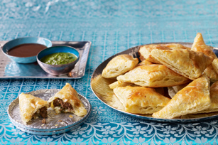 Shortcut Lamb Samosas