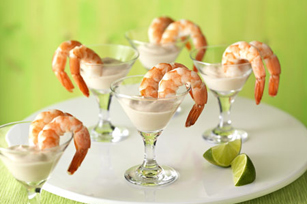 Shrimp with Chipotle-Lime Dipping Sauce Image 1