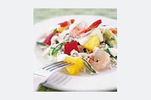 Shrimp & Pineapple Rice Salad
