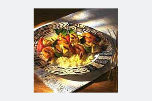 Dijon Shrimp and Chicken Skewers Image 1