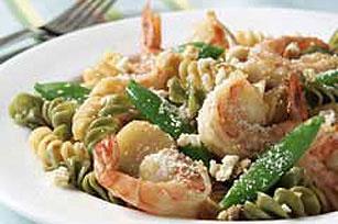 Shrimp Caesar Stir-Fry Pasta Image 1