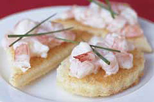 Shrimp Canapes Image 1