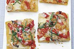 Cuadritos de pizza de camarón Image 1