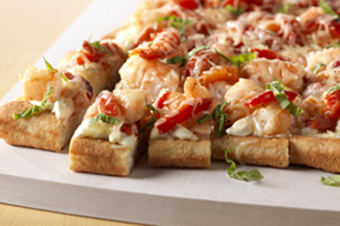 Shrimp Pizza Squares