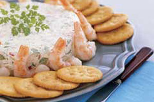 Pasta para untar de queso crema y camarones Image 1