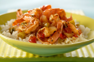 Shrimp & Spicy Tomato Sauce