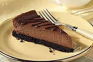 Silky Chocolate Cheesecake