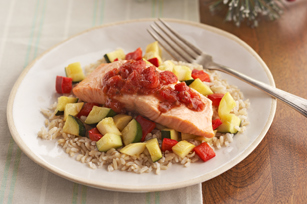 Simple Salmon Supper Image 1