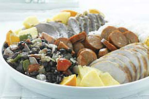 Simplified Brazilian Black Beans with Assorted Meats (Feijoada) Image 1