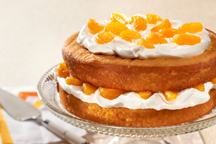 Simply Citrus Cream Cake Image 1