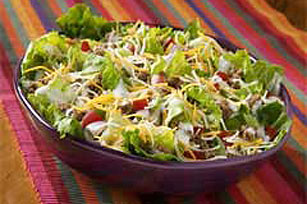 Six-Layer Taco Salad