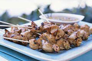Sizzlin' Chicken Skewers