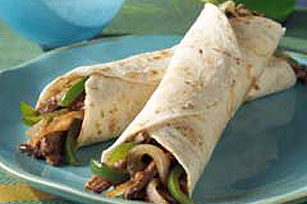Sizzling Steak Fajitas Image 1