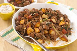 skillet-beef-picadillo-walnut-sauce-112594 Image 1