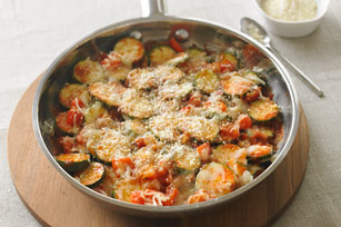 Skillet Parmesan Zucchini