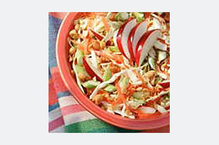 Slaw with Nut Dressing