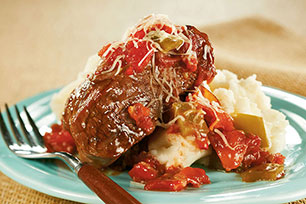 Slow-Cooker Saucy Swiss Steak Image 1