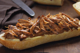 slow-cooker-orange-bbq-pulled-pork-sandwiches-108634 Image 1