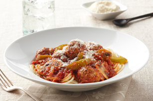 Slow-Cooker Saucy Meatballs Image 1