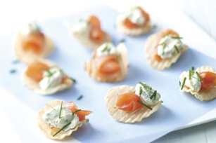 Smoked Salmon Chips Image 1
