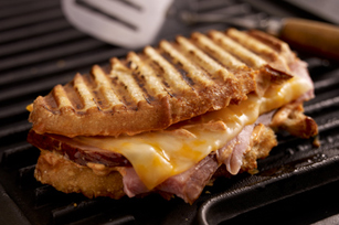 Smoky Grilled Ham and Cheese Image 1