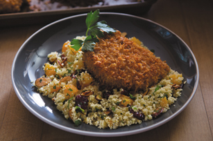 Smokey Mesquite Pork Chops with Couscous Salad Image 1