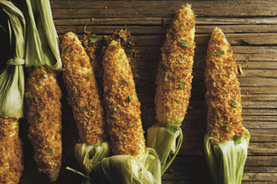 Smokey Roasted Corn on the Cob Image 1
