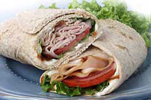 Smokey Turkey Wrap